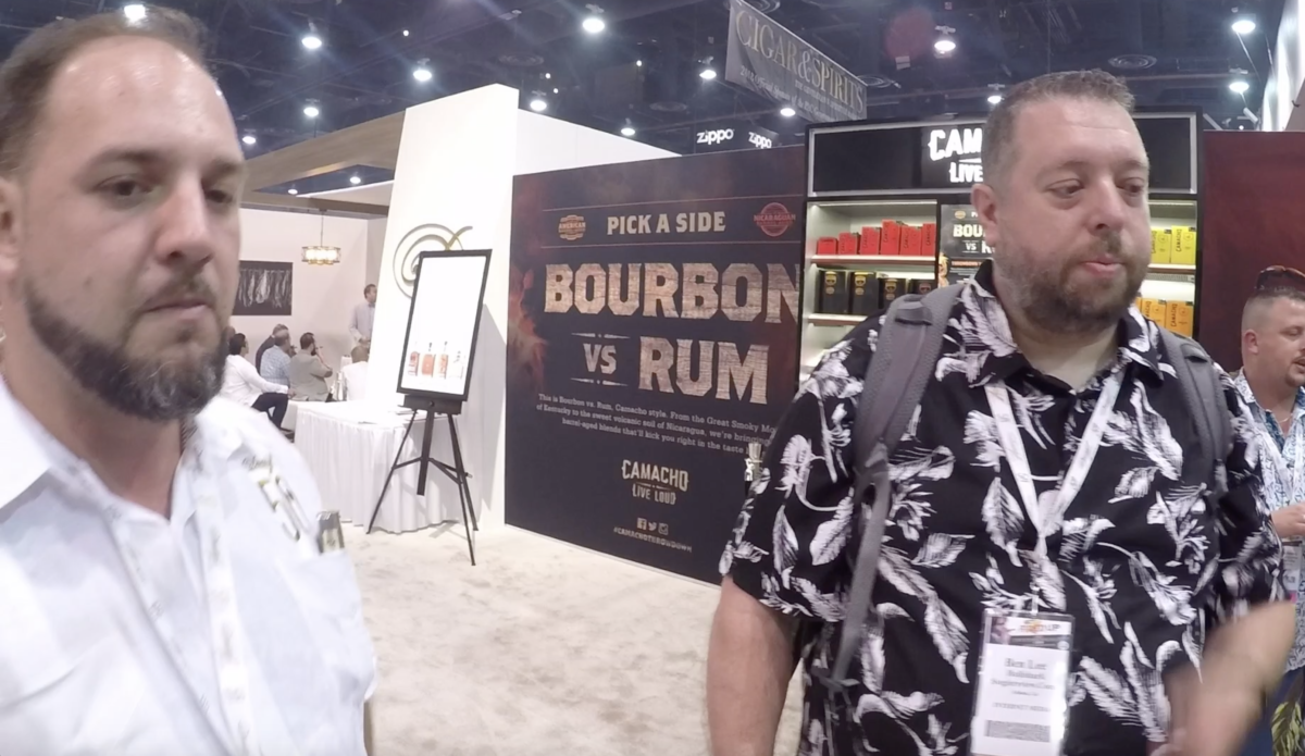 IPCPR 2018:  Camacho and Zino Cigars